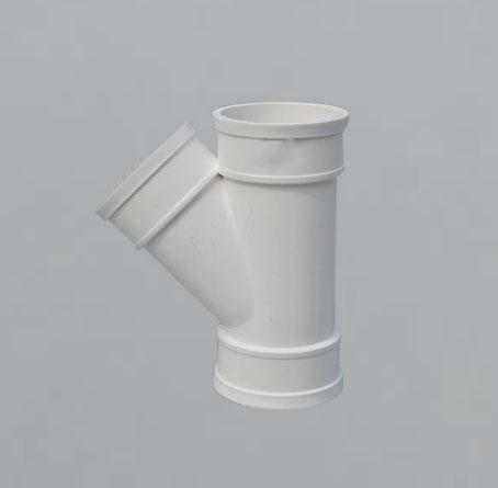 PVC45°斜三通